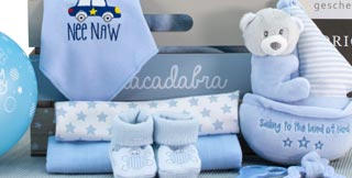 send new baby gifts to europe