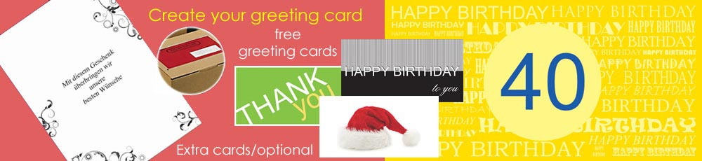 greeting cards for Germany