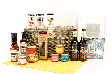 Gifts for Europe BBQ GIFT BASKET