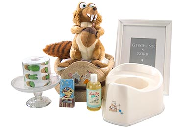 Baby Gift Basket POTTY TRAINING for Babys in Europe