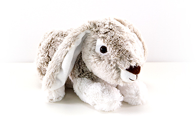 HOPPING BUNNY Gift wrapped Plush Toy