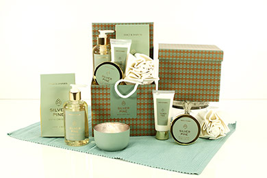 WELLNESS GIFT SILVERPINE gift to Europe