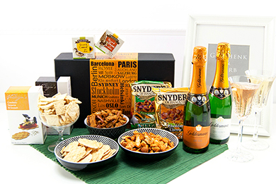 Gift Baskets SIP & CELEBRATE Gifts for Europe
