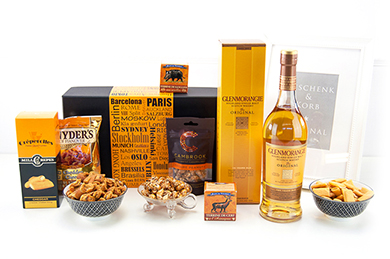 Gift Baskets GLENMORANGIE send Whiskey Gifts for men