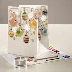 Z_16: Easter  Paperbag Light for magic moments