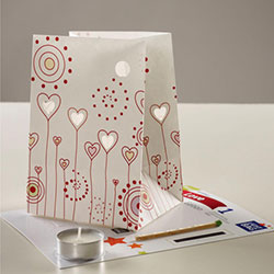 Z_19: Hearts  Paperbag Light  for magic moments