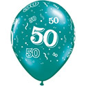 Z_28: Balloon,  50. Birthday, delivery not inflated