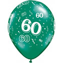 Z_29: Balloon,  60. Birthday, delivery not inflated