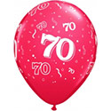 Z_30: Balloon,  70. Birthday, delivery not inflated