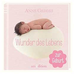 Z_309: Book - Anne Geddes Wonder of Life for Girls in German