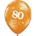 Z_31: Balloon,  80. Birthday, delivery not inflated
