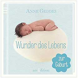 Z_310: Book - Anne Geddes Wonder of Life for Boys in German