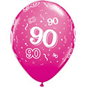 Z_32: Balloon,  90. Birthday, delivery not inflated