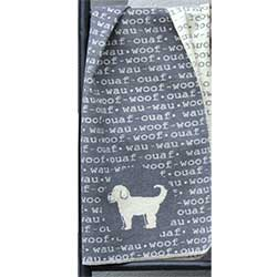 Z_40: Dog blanket by Fussenegger  gift wrapped