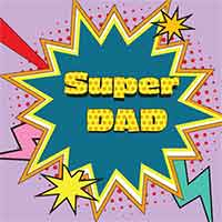 Z_96: Napkins -Super DAD-