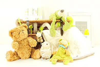 Baby Gifts Europe CUTE SWEETHEART GIFT BASKET FOR BABYS