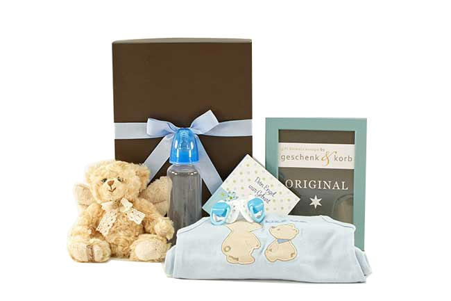 BABY GIFT SET FOR BOYS | YOUR ANGEL (book in German)
