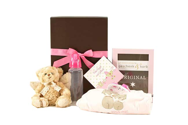 BABY GIFT SET FOR GIRLS | YOUR ANGEL (book in German)