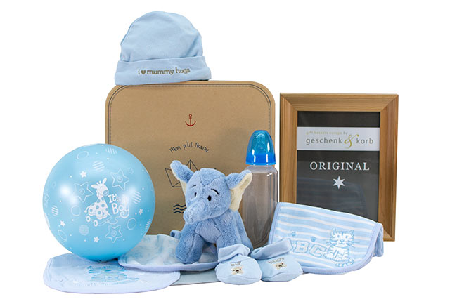 BLUE ELEPHANT | BABY GIFT FOR BOYS
