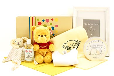 Baby Gift BABYs 1st WINNIE POOH for delivery in Europe.