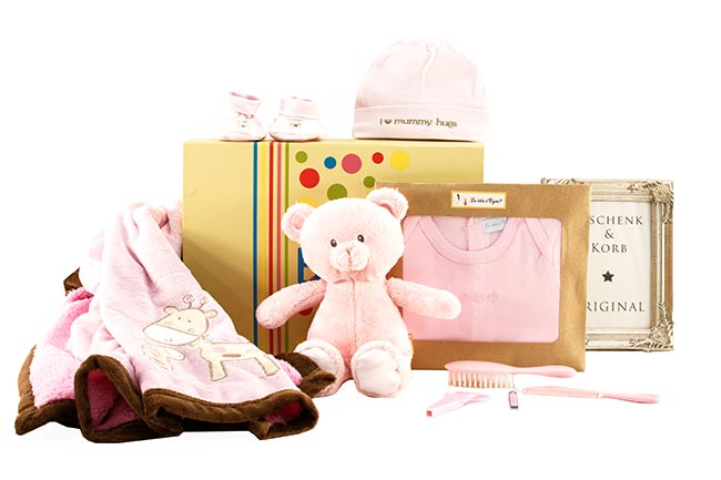 CUTE BABY GIFT BOX for LITTLE GIRLS