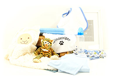 Baby Gifts Europe GROWLING TIGER BABY GIFT BASKET