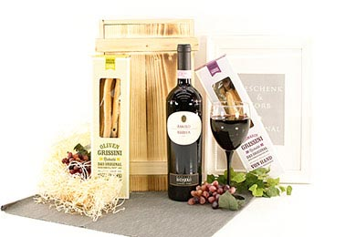 Gifts for Europe BAROLO & GRISSINI