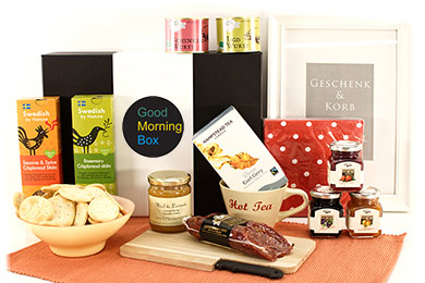 Gift Baskets WAKE UP International breakfast gift