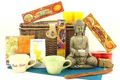Gift for Europe GIFT BASKET BUDDHA