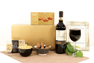 Wine Gift Basket CHIANTI SWEET & SALTY