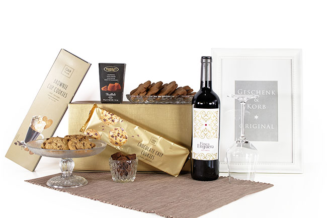 COOKIE & CHOC & WINE | CHRISTMAS GIFT BOX