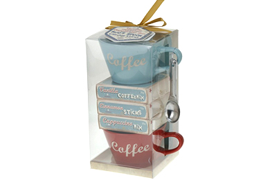 Gifts for delivery in Europe GIFT SET CAPPUCCINO