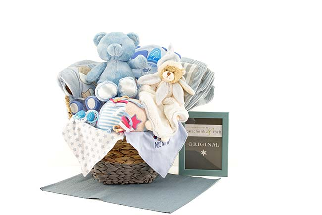 WOW BABY GIFT BASKET | FOR BOYS