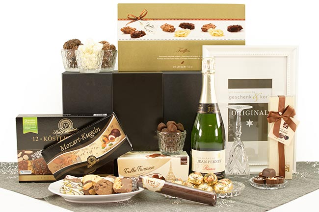GOLDEN MOMENTS | CHAMPAGNE GIFT