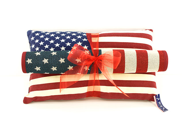 USA GIFT SET | Pillow and Door Mat
