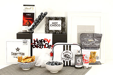 Gift Baskets for Men FOR SUPER MAN  for Europe