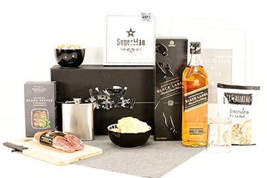 Birthday Gift for Men with Black Label Whisky and more