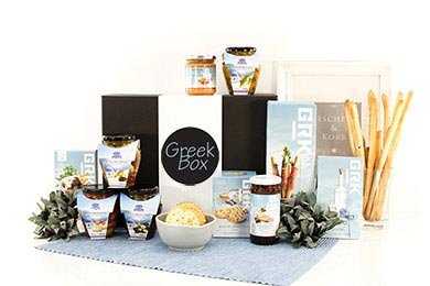 CRETE greek gourmet gift box for EU delivery