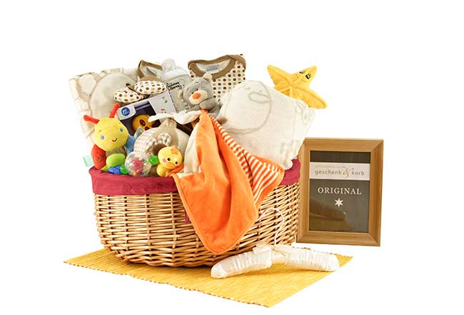 BIG BABY HAMPER | GIFT BASKET NEUTRAL