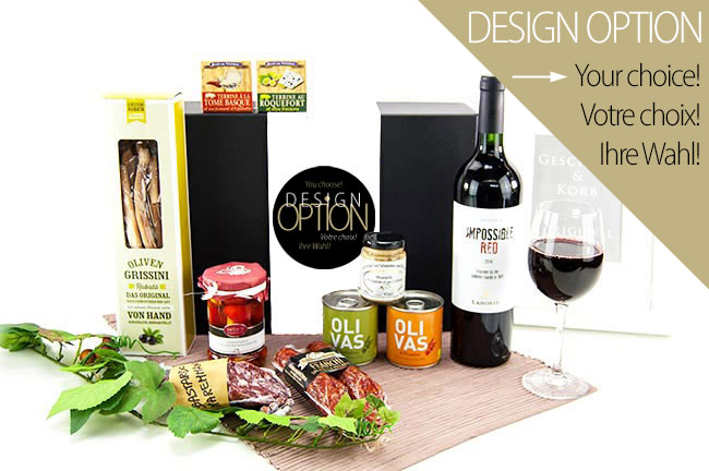 WINE & SALAMI | Delicious Fingerfood Gift for Men