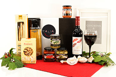 ITALIAN GOURMET GIFT MILANO Italy Wine and Gourmet Dinner Gift