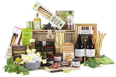 Gift Basket ITALY We send Gourmet Food Gifts to Europe