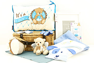 Baby Gift ITs A BOY BABY GIFT BASKET boys and their toys