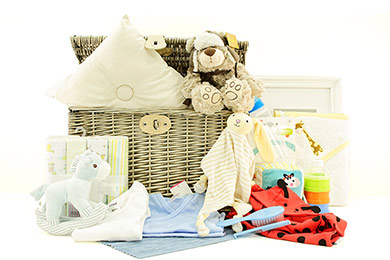 Baby Gifts Europe PILOT TEDDY BABY GIFT BASKET