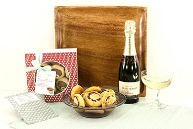 Gourmet gifts CHAMPAGNE & DELI COOKIES