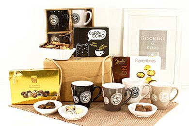 Gift Hampers COFFEE & CHOC for Europe