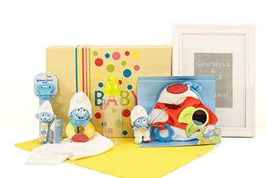 Baby SMURF BABY GIFT send gifts to Europe