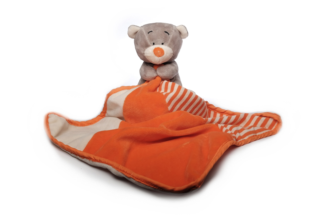 SLEEPING BEAR security blanket