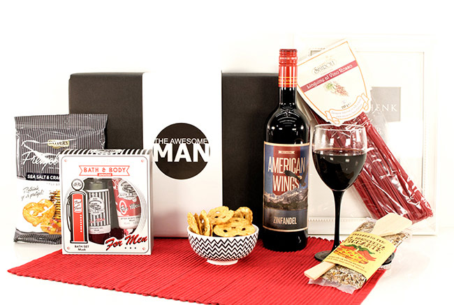 GIFTS FOR MEN | USA WINE AMERICAN WINGS