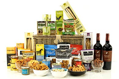 Gift Baskets PARTY SNACK for delivery in Europe